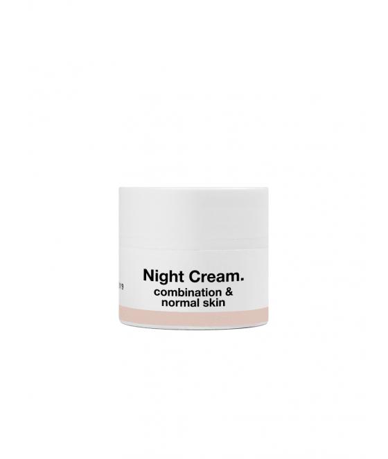 MINI Ночной крем для нормальной и комбинированной кожи
