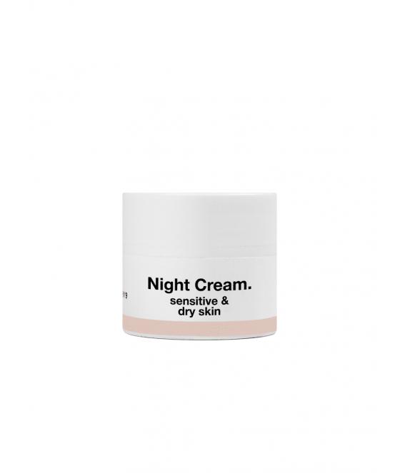 MINI Ночной крем для сухой и чувствительной кожи